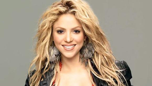 Shakira de vacaciones en Colombia