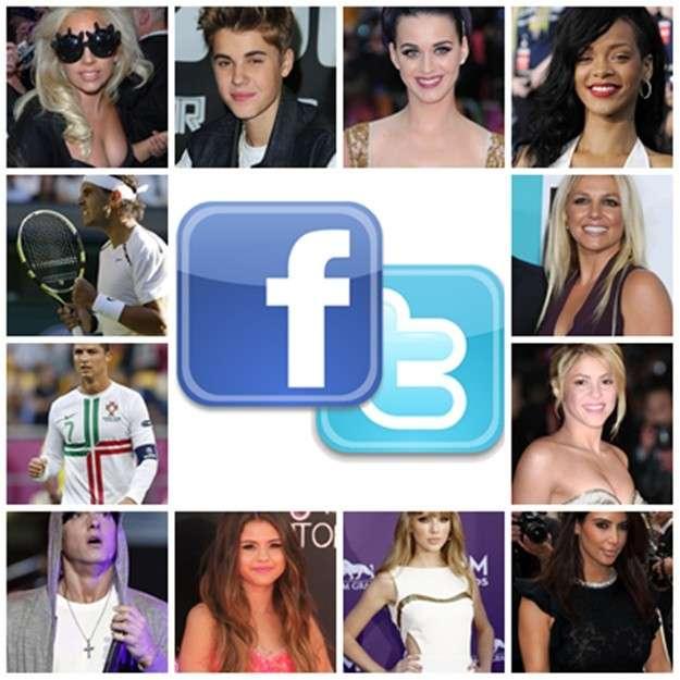 La influencia de los famosos en redes sociales